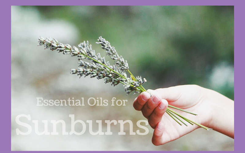 Essential oil for sunburn
