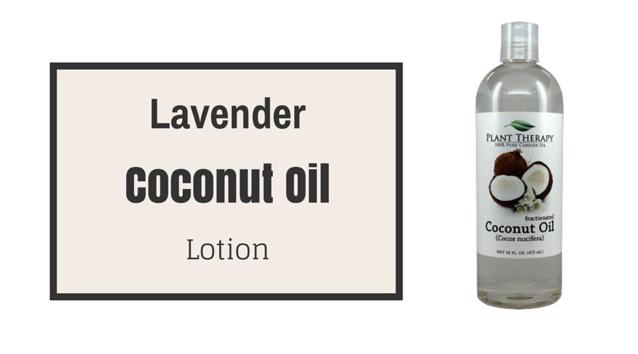 Fractionated coconut oil sunburn